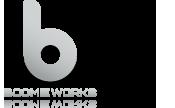 Boomieworks / diseño / impresión / fotografía Logo